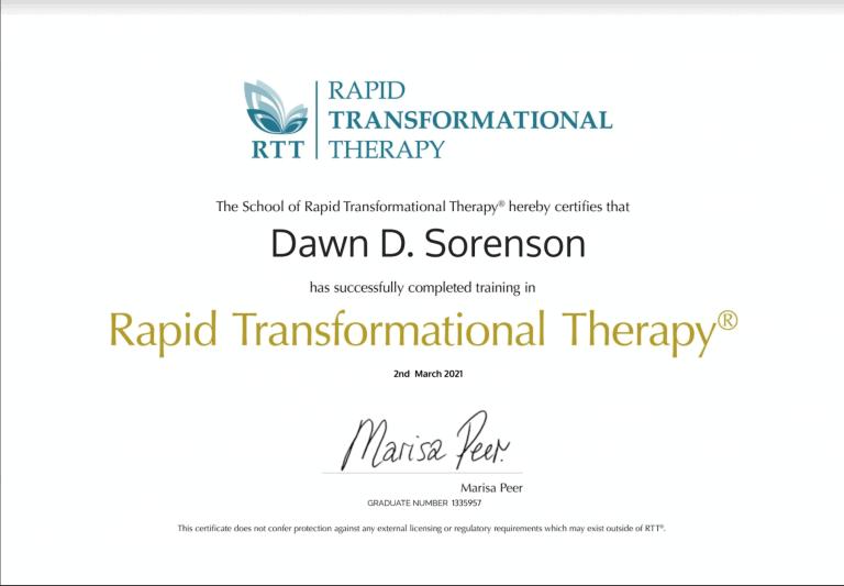 RTT Certification